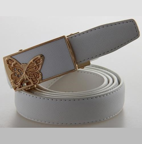 Fashion Butterfly Buckle Strap Belt - SexyBling