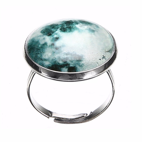 Full Moon Glow in the Dark Ring - SexyBling