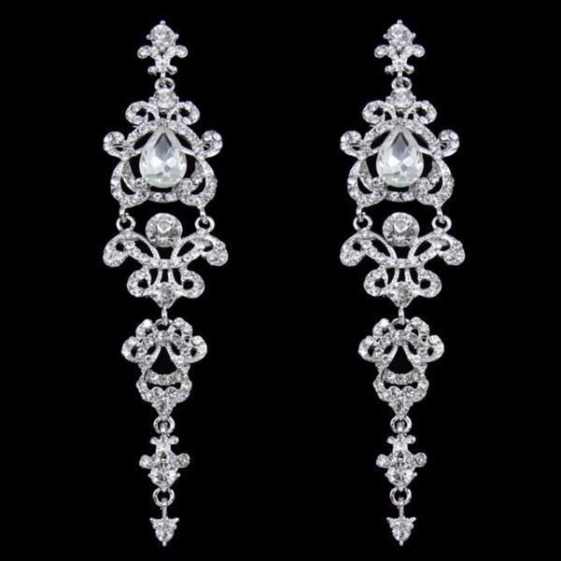 Buy long gothic chandelier earrings online at lowest price sexybling long gothic chandelier earrings aloadofball Image collections