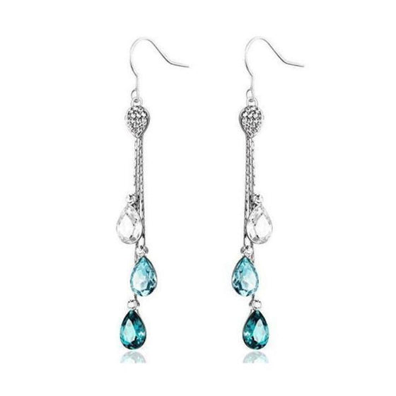Neoglory Swarovski Earrings - SexyBling