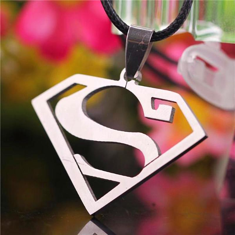 Superman pendant necklace sexybling superman pendant necklace undefined by sexybling mozeypictures Gallery