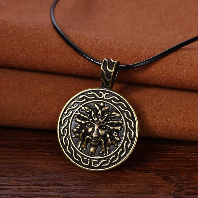 Vikings odin pendant necklace sexybling vikings odin pendant necklace golden by sexybling aloadofball Gallery