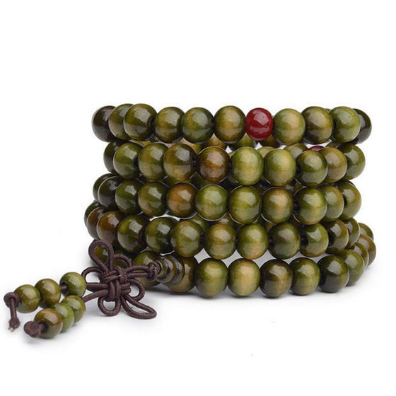Greenish Sandelwood Bracelet