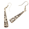 Hollow Carved Pillar Earrings - SexyBling