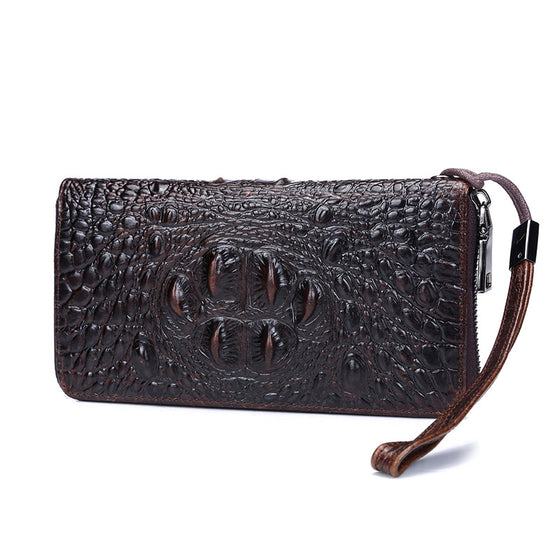 Bold Crocodile Pattern Women Wallet