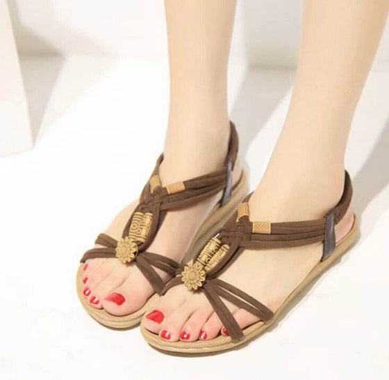 Summer Flip Flops High Quality Flat Gladiator Sandals