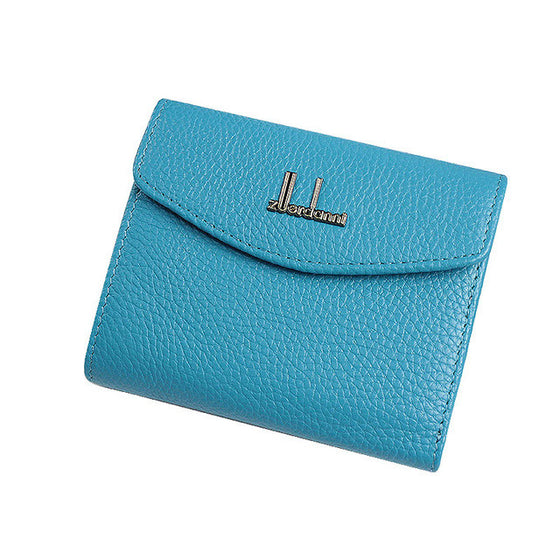 Cute Genuine Leather Mini Wallet
