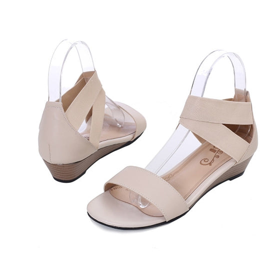 Genuine Leather Plus Size Casual Woman Sandals