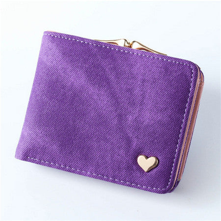 Cute Mini Female Leather Wallet