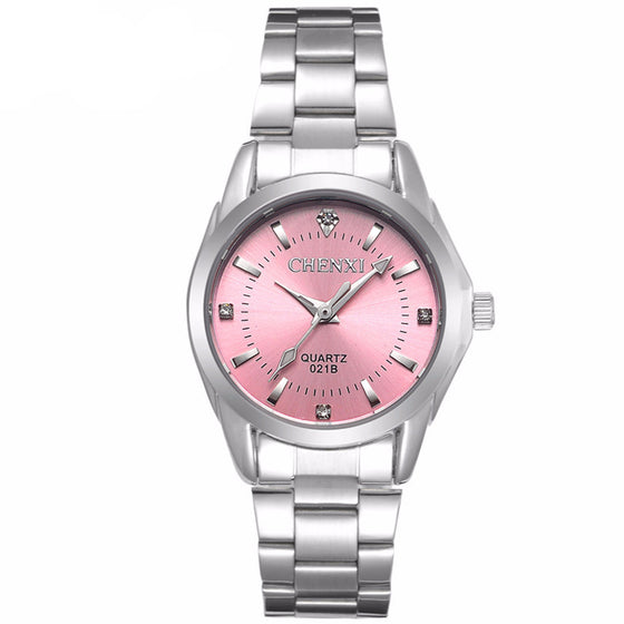5 Fashion Colors Women's Casual Watch