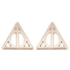 Luna Triangle Hallows Earrings - SexyBling