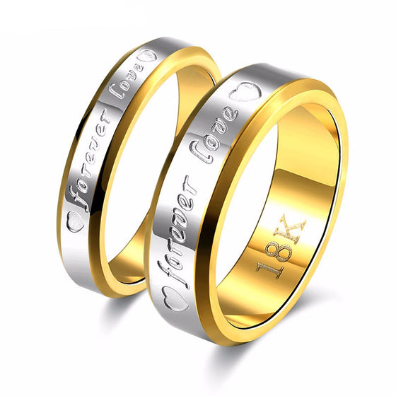 Wedding Couple Rings For Women & Men - SexyBling