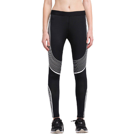Hot High Waist Compression Yoga Pants - SexyBling