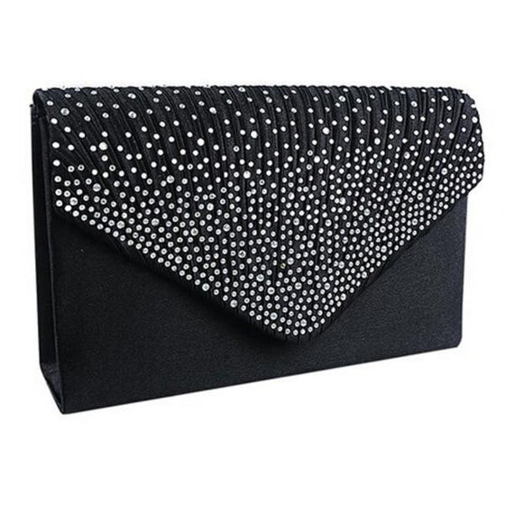 NEW Bridal Style Studded Clutch