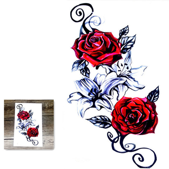 Rose Body Art Tattoo