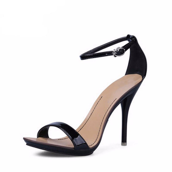 Strappy Gladiator Party Dress Pumps - SexyBling
