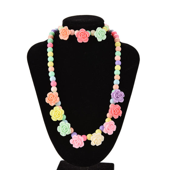 Candy Beaded Bubblegum Necklace