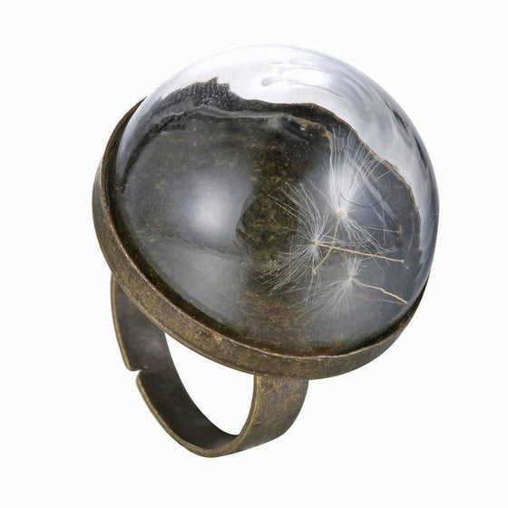 Dandelion Seed Ring - SexyBling