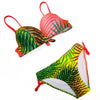 Backless Gradient Bikini Set - SexyBling