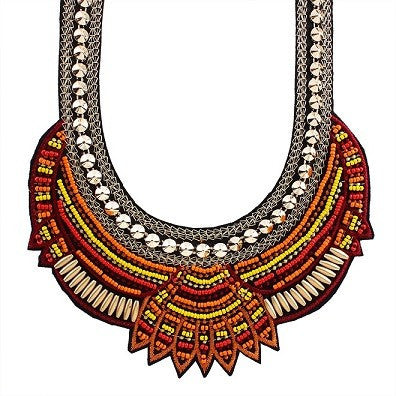 Choker Ethnic Collates Necklace