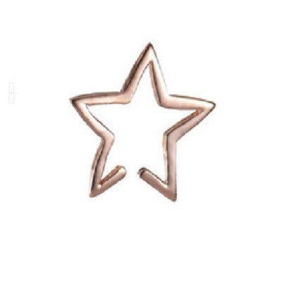 Punk Star Design Earrings Clip