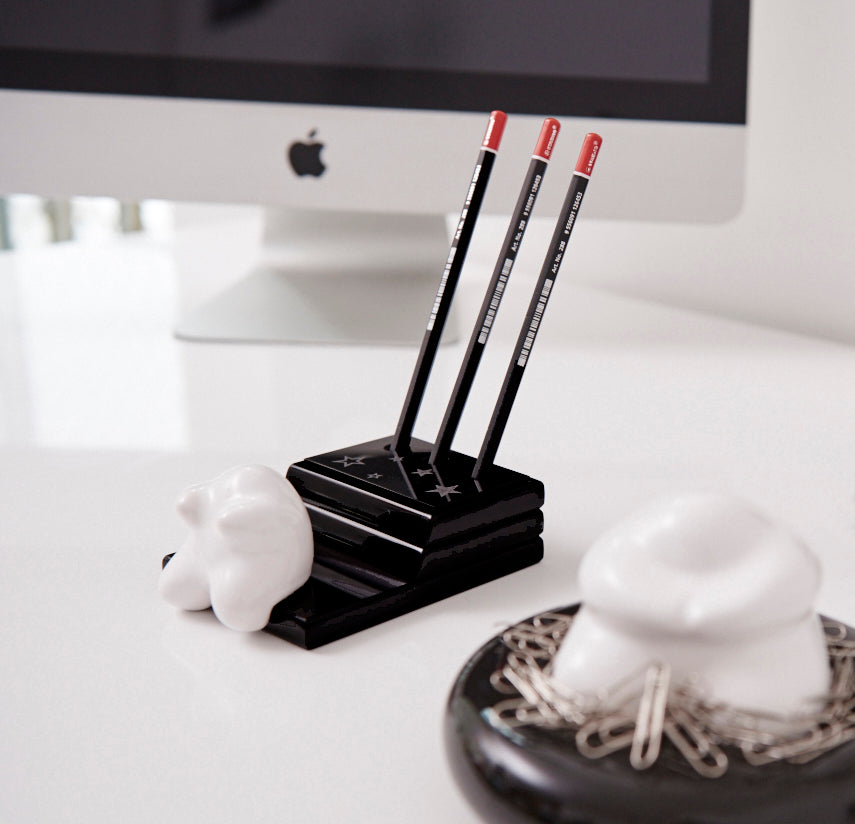 card & pencil holder