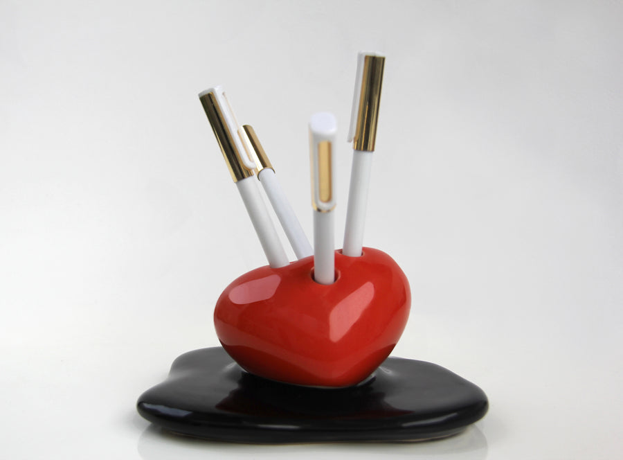 Heart Pencil Holder