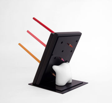 Pencil holder acrílico