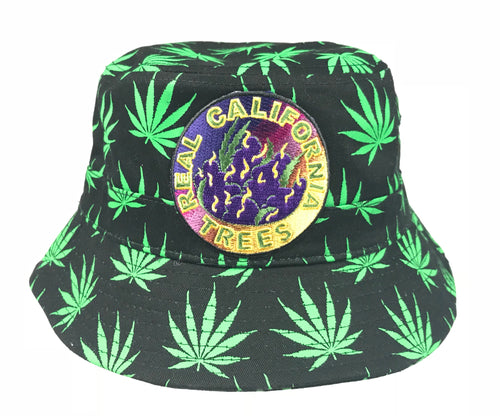 Pot Leaf Bucket Hats