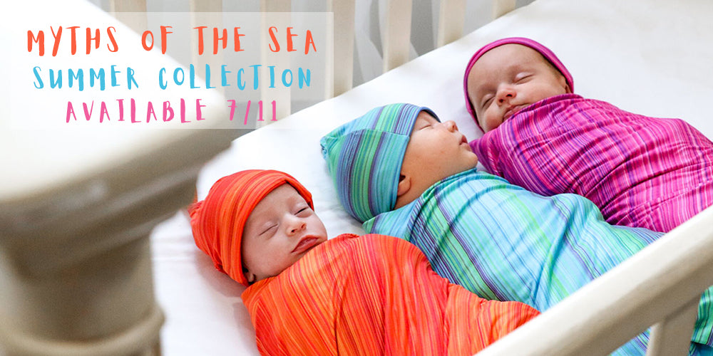 Myths of the Sea Stretch Swaddle Set