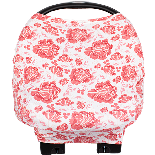 bumblito - Bee Covered multi-use cover - Stella print - Floral Nursing cover - Floral breastfeeding cover - Car seat cover - multi use cover - made in the United States