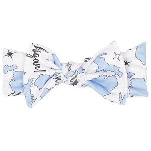 bumblito - Stretchy Children's Headband - Michigan - Luxurious headband bow - matching headbands