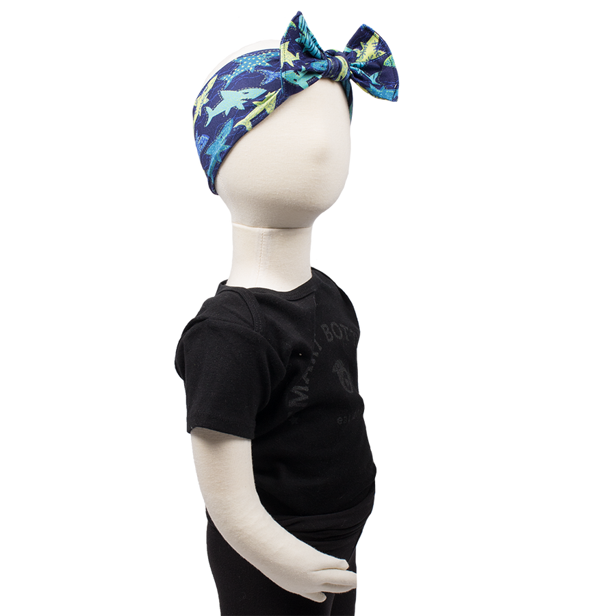 Children's Headband - Swim Faster
