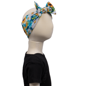 bumblito - children's headband - Hello, Sunshine - stretchy bow headband