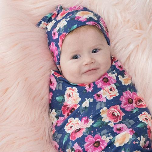 Stretch Swaddle Set - Petit Bouquet