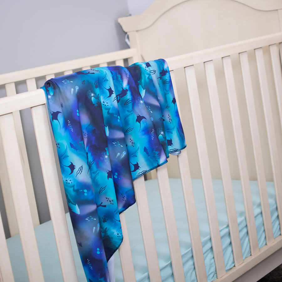 Stretch Swaddle Set - Abyss