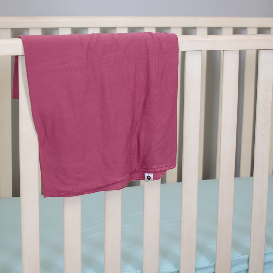 Stretch Swaddle Set - Dusty Rose
