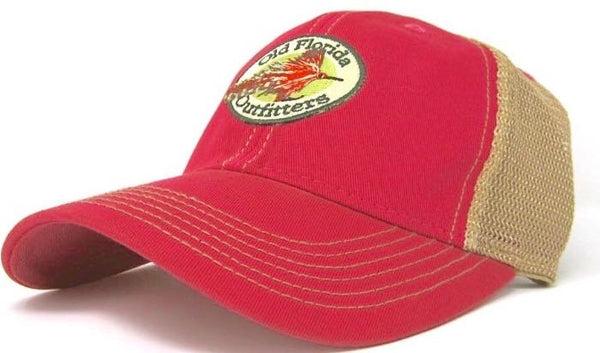 eb9e353c5232f OFO YOUTH Logo OLD FAVORITE Soft Trucker in Red