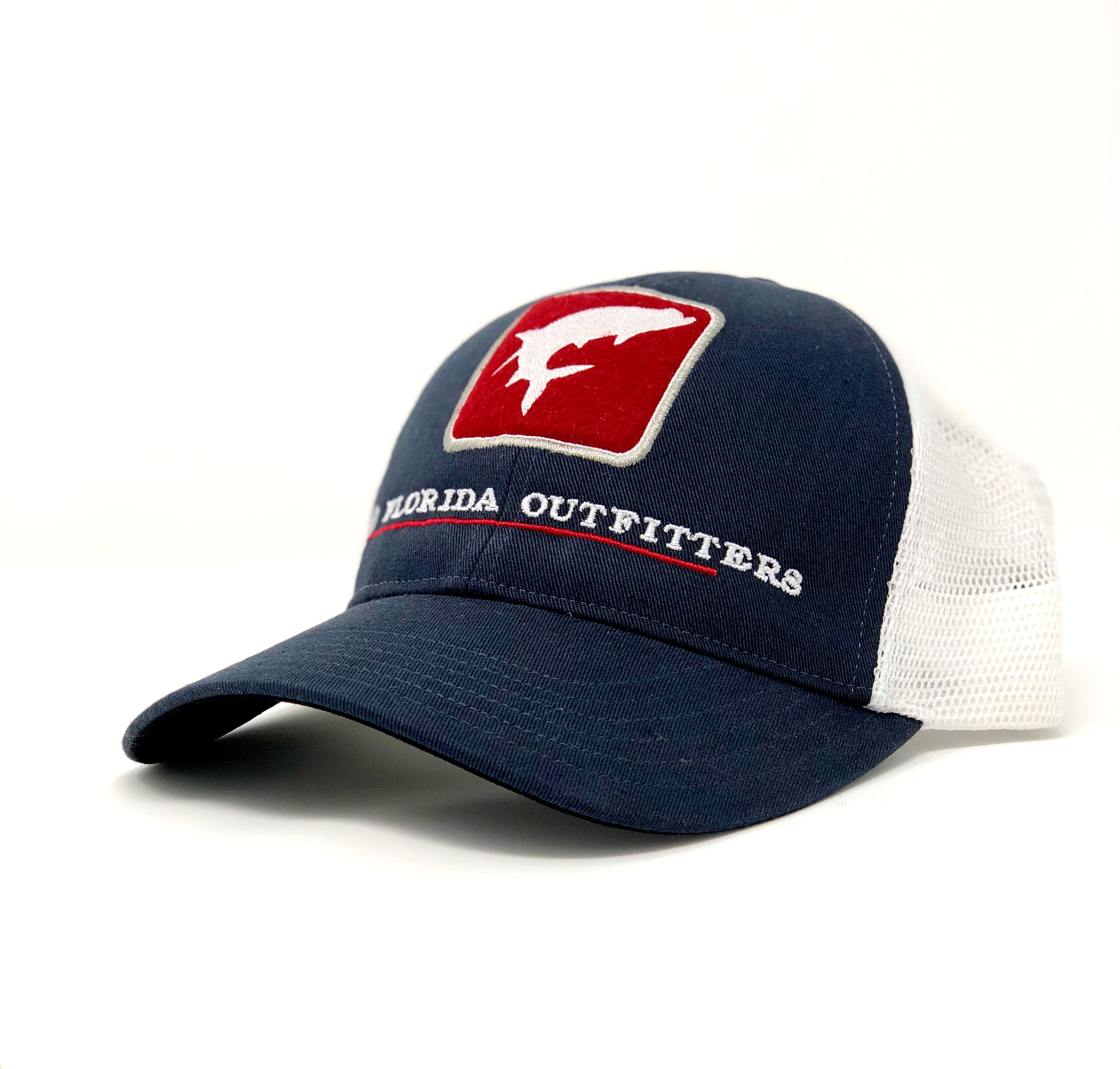 Simms OFO Tarpon Trucker in Navy Blue - Old Florida Outfitters 921c6d4fc6e