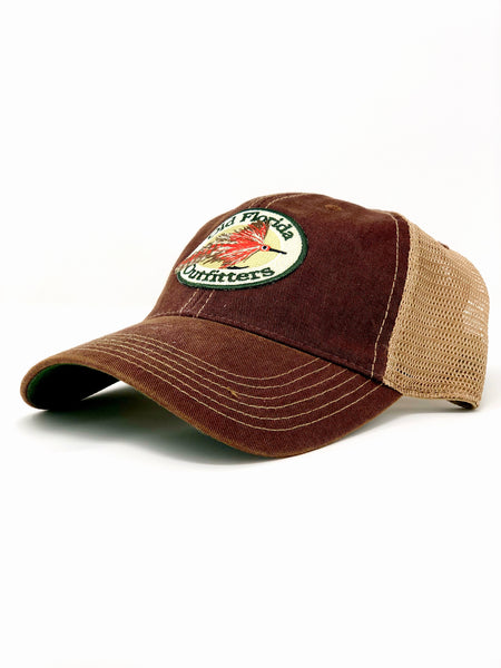 106506446c186 OFO Logo OLD FAVORITE Soft Trucker in Brick