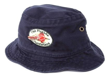 3b6ab2e889eaf OFO Toddler Logo Twill Bucket Cap in Navy - Old Florida Outfitters