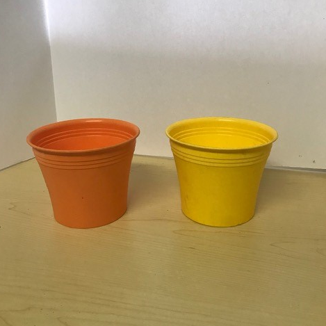 Small Plastic pot covers