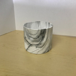 Tumbled Marble Finish Pot