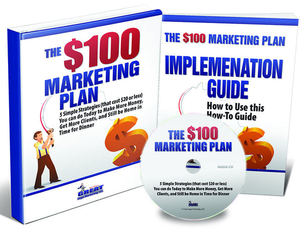 The $100 Marketing Plan