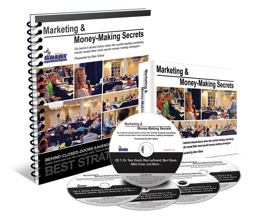 Marketing & Money-Making Secrets: The Titanium Recordings