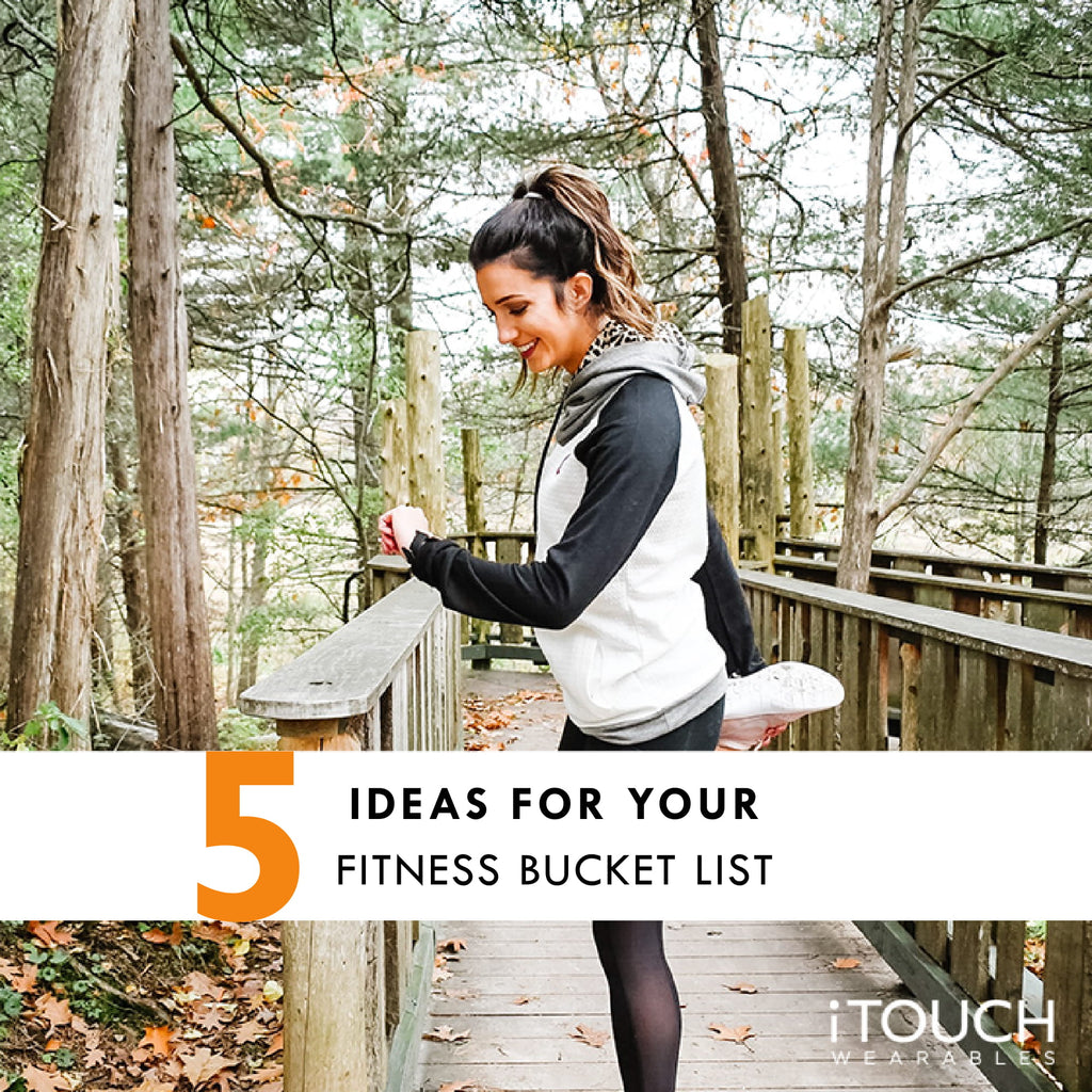 5 Ideas For Your Fitness Bucket List