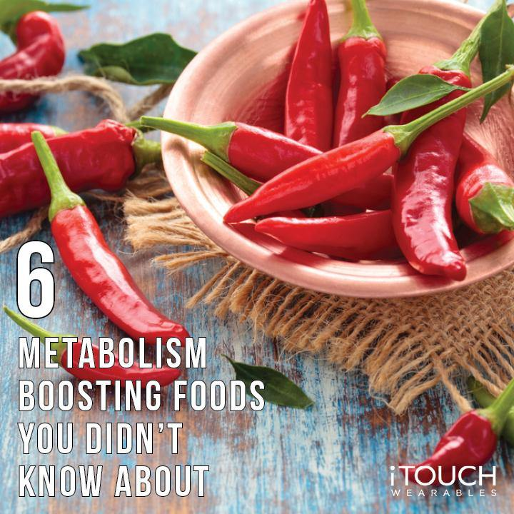 6 Metabolism Boosting Foods You Didn't Know About