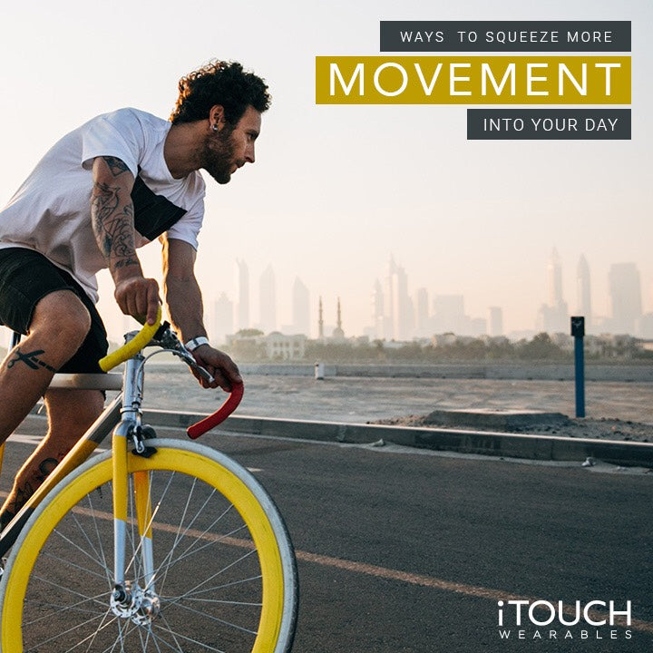 Ways to Squeeze More Movement Into Your Day