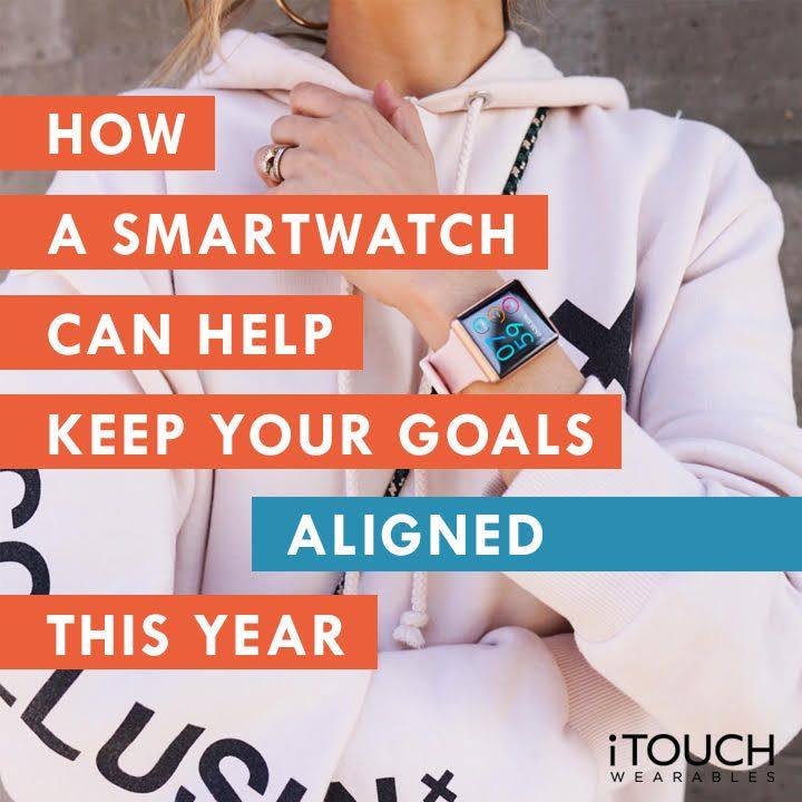 How A Smartwatch Can Help Keep Your Goals Aligned This Year