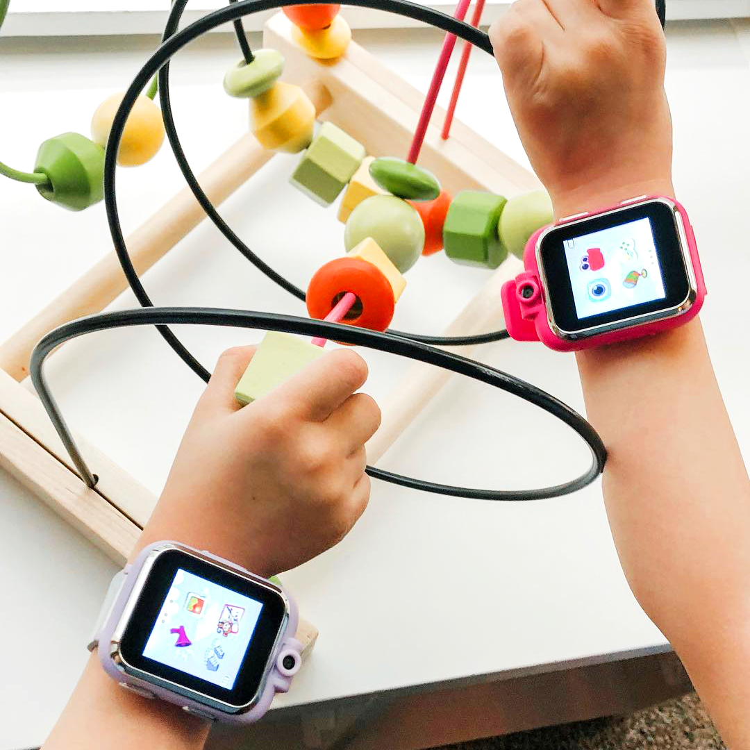 iTouch PlayZoom Smartwatch For Kids: Fuchsia